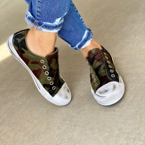 The Camo Sneakers