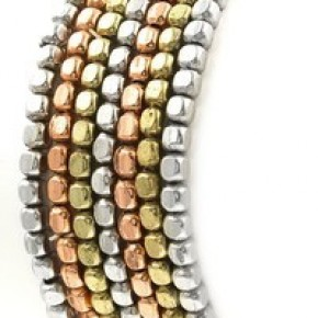 The Thick Metal Beaded Stack s