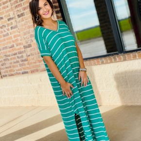The STEAL Striped Costa Maxi