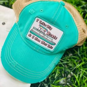 Big Boats Hat in Jade