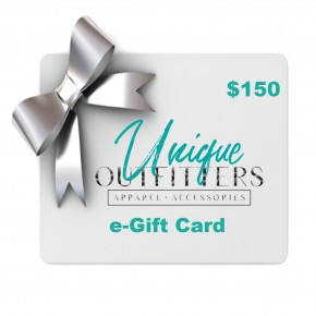$150 e-Gift Card-Unique Outfitters
