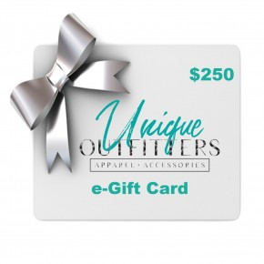 $250 e-Gift Card-Unique Outfitters