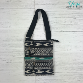 AZTEC JACQUARD CROSS-BODY BAG