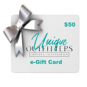$50 e-Gift Card-Unique Outfitters
