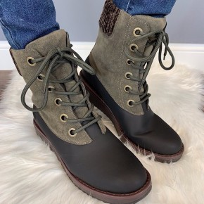 BLOWFISH - RUBBER OUTSOLE LACE-UP BOOT