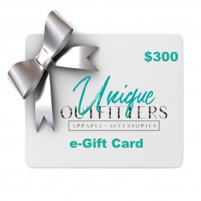 $300 e-Gift Card-Unique Outfitters