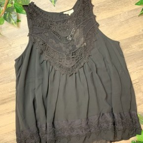 Take Me Out Lace Tank