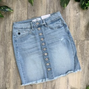 KanCan Bella Denim Skirt