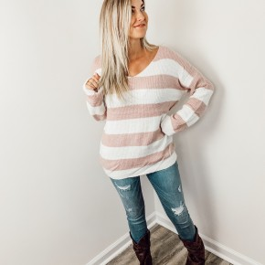 Cotton Candy Skies Sweater