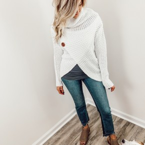 Feeling Chilly Wrap Sweater