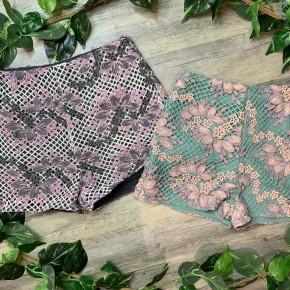 Elegant Lace Shorts