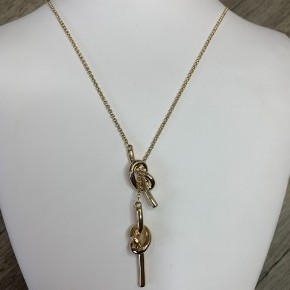 Slip Knot Necklace