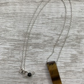 "Tigers Eye 18"" Necklace"