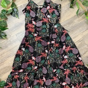 Black Miami Floral Dress
