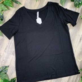 V-Neck Relaxed T-Shirt Plus Size