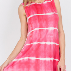Knit Tie Dye Dress