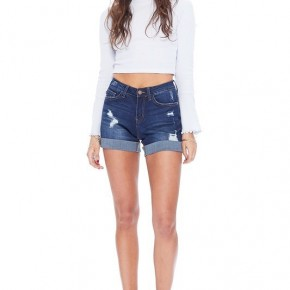 Boyfriend Cuffed Shorts Judy Blue