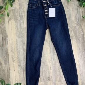 KanCan 5 Button High Rise Dark Jeans
