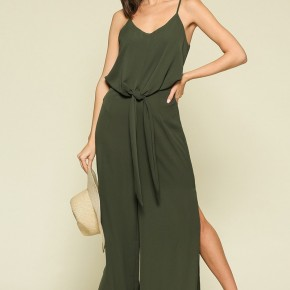 Side Slit Jumpsuit