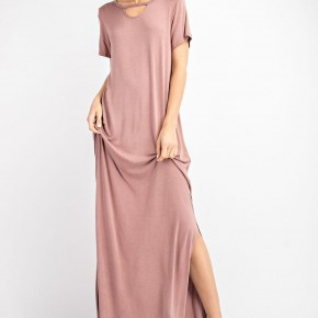 Washed Maxi Dress