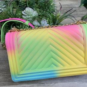 Rainbow Sherbet Purse