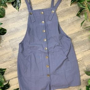 Blue Jean Overall Dress