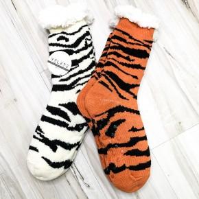 Animal Sherpa Long Socks