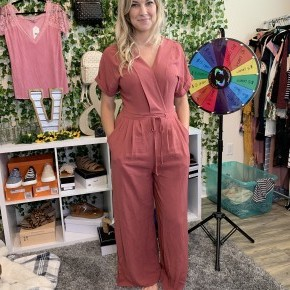 Going to Work Jumpsuit