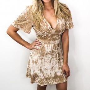 Lovely Velour Dress