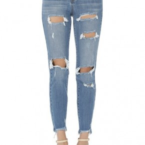 Heavy Destroyed Boyfriend Jeans