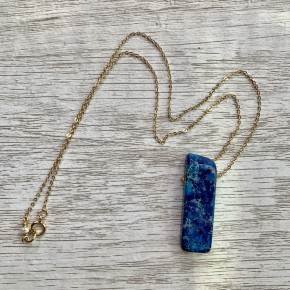 Blue Imperial Jasper Necklace
