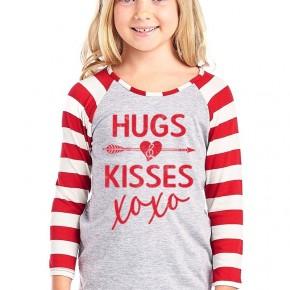 Hugs and Kisses Kids Top
