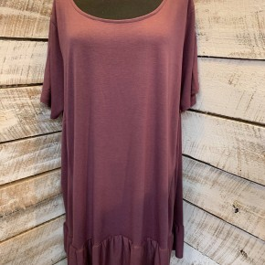 PLUS SIZE Ruffle Tunic