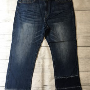 Tiered Straight Leg Jeans