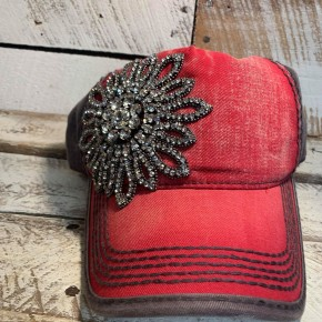 Bling Hat Red