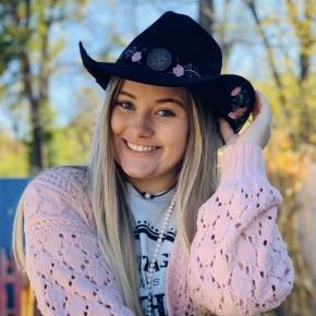 Flower Cowboy Hat