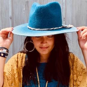 Ombre Panama Hat