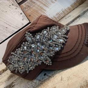 Cadet Brown Bling Hat