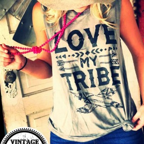 Love my Tribe Graphic Tank