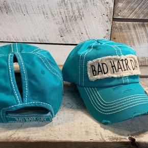Vintage Ballcap Bad Hair Ponytail