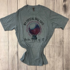 My Crystal Ball graphic tee