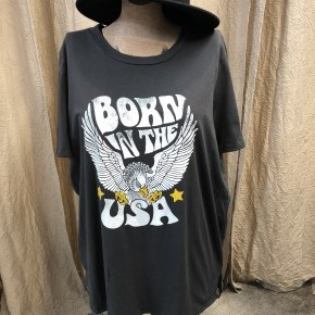 Born in the USA Graphic Tee Curvy