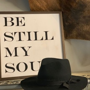Black Panama Hat