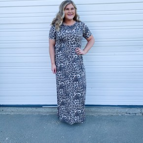 'Back In Town' Maxi Dress