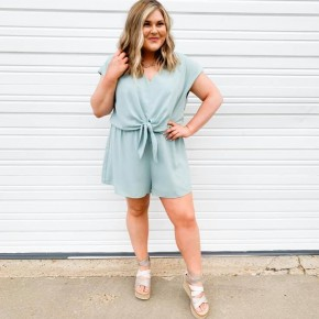 'Mint To Be' Romper