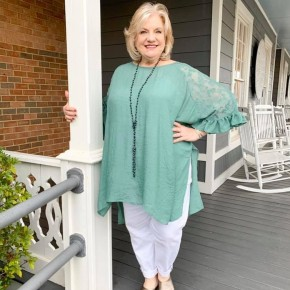 'Lovely Lace' Tunic