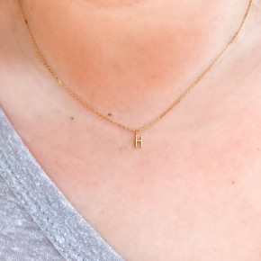 Petitie Initial Necklace