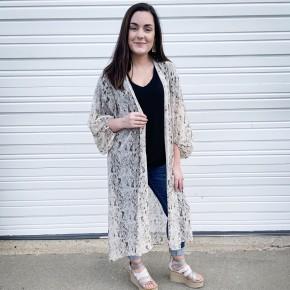 'Sway In Style' - Snakeskin Kimono/Duster