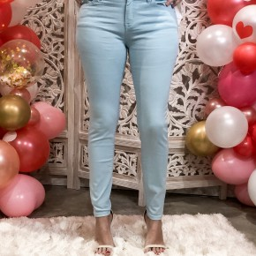 Baby Blue Skinny Jeans