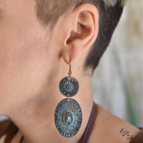 Patina Bohemian Earrings